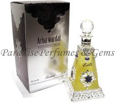 Arba Wardat - Oriental Elegent Perfume Oil by Rasasi 30ml - Best Seller