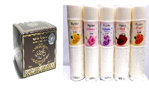 Arabian Perfumed Powders Hair/Body Oils